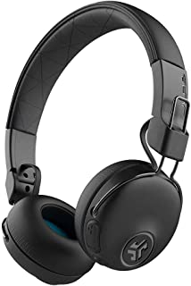 JLab Audio Studio ANC On-Ear Wireless Headphones | Black | 34+ Hour Bluetooth 5 Playtime - 28+ Hour with Active Noise Cancellation | EQ3 Custom Sound | Ultra-Plush Faux Leather & Cloud Foam Cushions
