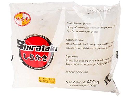 yoaxia ® Marke - [ 400g / 200g ATG ] Konjak Nudeln Shirataki