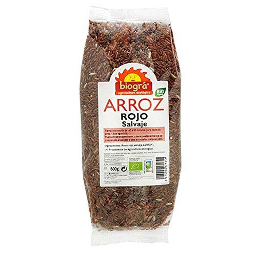 IJSALUT - Arroz Rojo Salvaje Bio 500Gr Biogra 500 Gr