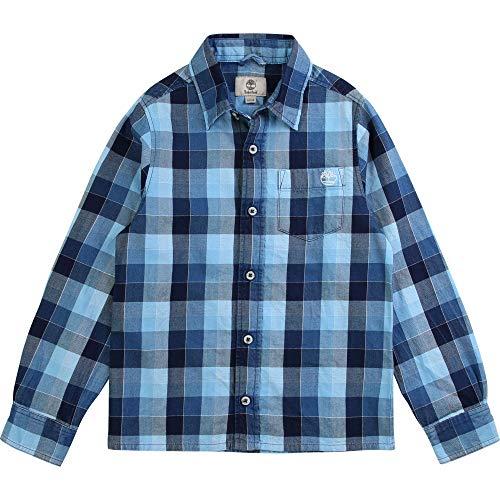 Timberland August Hemden Jungen Blau - 3 Jahre - Langärmelige Hemden Shirt