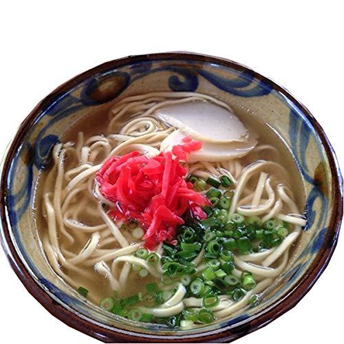 沖縄そば6人前(鰹だし風味スープ)紅生姜付