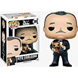 Luck7DZ Vito Corleone Figura El Padrino Exquisito Figura PVC Pop de Colección de Juguete