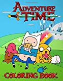 Adventure Time Coloring Book: 50+ Coloring Pages of your favourite characters from The Land of OOO...