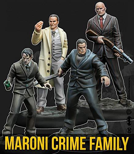 Knight Models Juego de Mesa - Miniaturas Resina DC Comics Superheroe -Batman - Maroni Crime Family