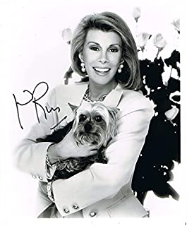 JOAN RIVERS - Queen of Comedy AUTOGRAPH Signed 8x10 Photo