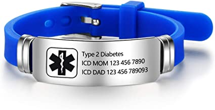 autism medical id bracelet