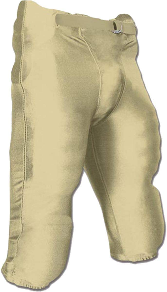 CHAMPRO Adult Bootleg Integrated Football Pant : Sports & Outdoors