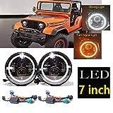 Led Headlight For Jeep CJ CJ5 CJ7 1959-1986...