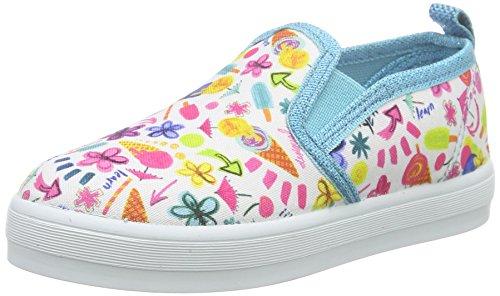 Desigual Mädchen Shoes_LONA 2 Espadrilles, Blau (5103 Azul Atoll), 30 EU