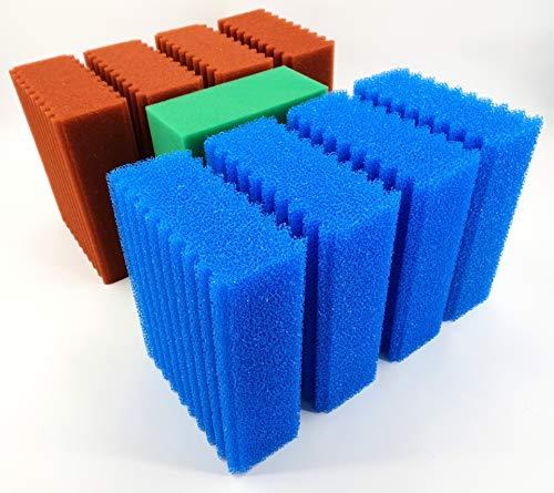 Wacredo Oase vervangspons set voor Oase Biotec 10.1 of BioSmart 24000, 36000 vijverfilter