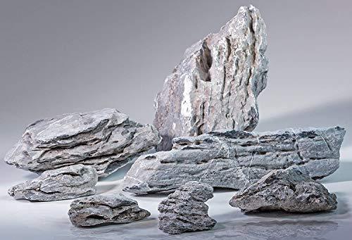 Pisces 17lb Seiryu Rock for Aquascaping, Aquariums, Terrariums, Vivariums (1-Pack)