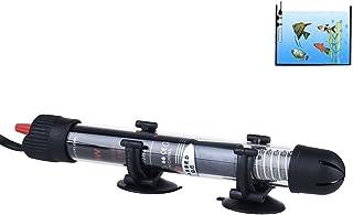 FONLAM Calentador para Acuario Sumergible Calentador Pecera Agua Dulce Salada Temperatura Ajustable Anti-Explosión (25W)