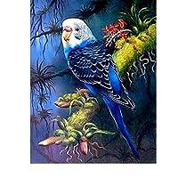 ダイヤモンド刺繍キットDiyダイヤモンド塗装鳥動物フルスクエアダイヤモンドモザイククロスステッチオウムダイヤモンド刺繍リビングルーム家の装飾