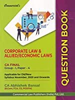 Commercisl's Corporate Law & Allied/Economic Laws Question Bank CA Final Group-1, Paper-4