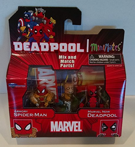 Minimates Marvel Marvel Now Deadpool and Armory Spider-Man TRU Exclusive Figure Pack