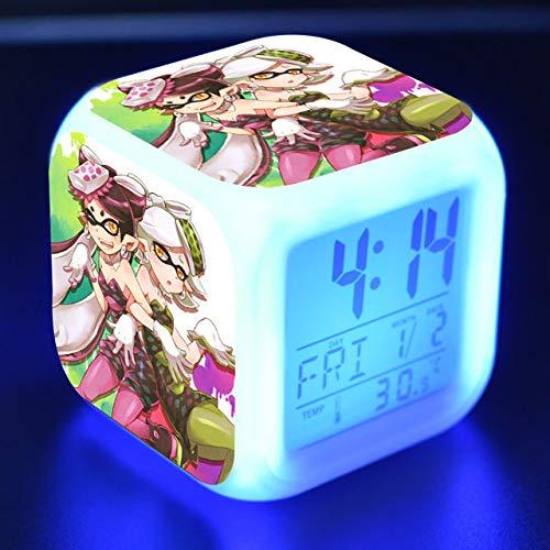 Baobaoshop Cartoon Wecker Kinderspielzeug LED Uhr Weltkrieg digitalen Wecker elektronische Wecklampe Wecker Wecker