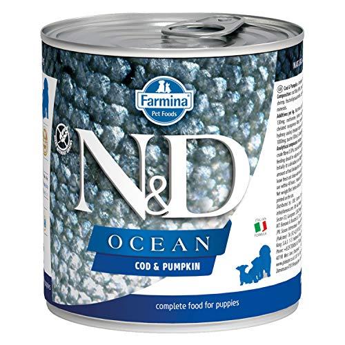 Farmina - Natural & Delicious Ocean Puppy con Merluzzo e Zucca 285 gr Umido Cani