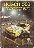 CDecor NASCAR Bristol Raceway Busch Blechschilder, Metall