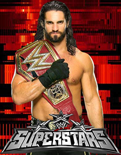 WWE Superstar Seth Rollins Poster Art Print Posters 11×14 inches Unframed Canvas Print