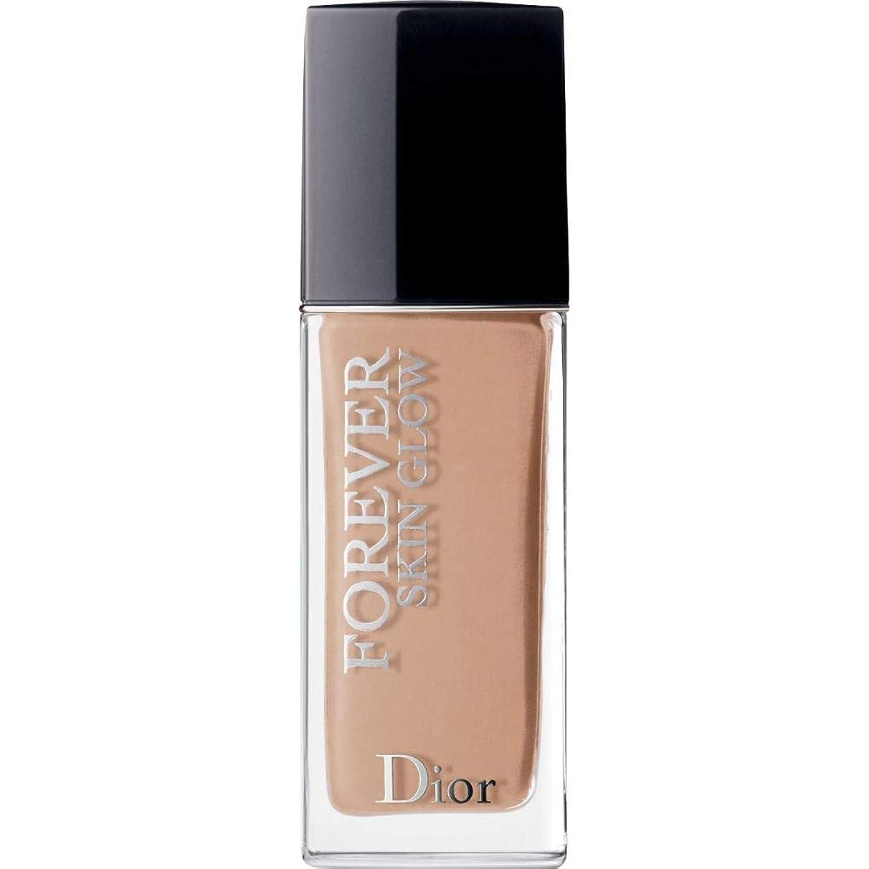 タオル打倒圧縮する[Dior ] ディオール永遠に皮膚グロー皮膚思いやりの基礎Spf35 30ミリリットル4Cを - クール(肌の輝き) - DIOR Forever Skin Glow Skin-Caring Foundation SPF35 30ml 4C - Cool (Skin Glow) [並行輸入品]