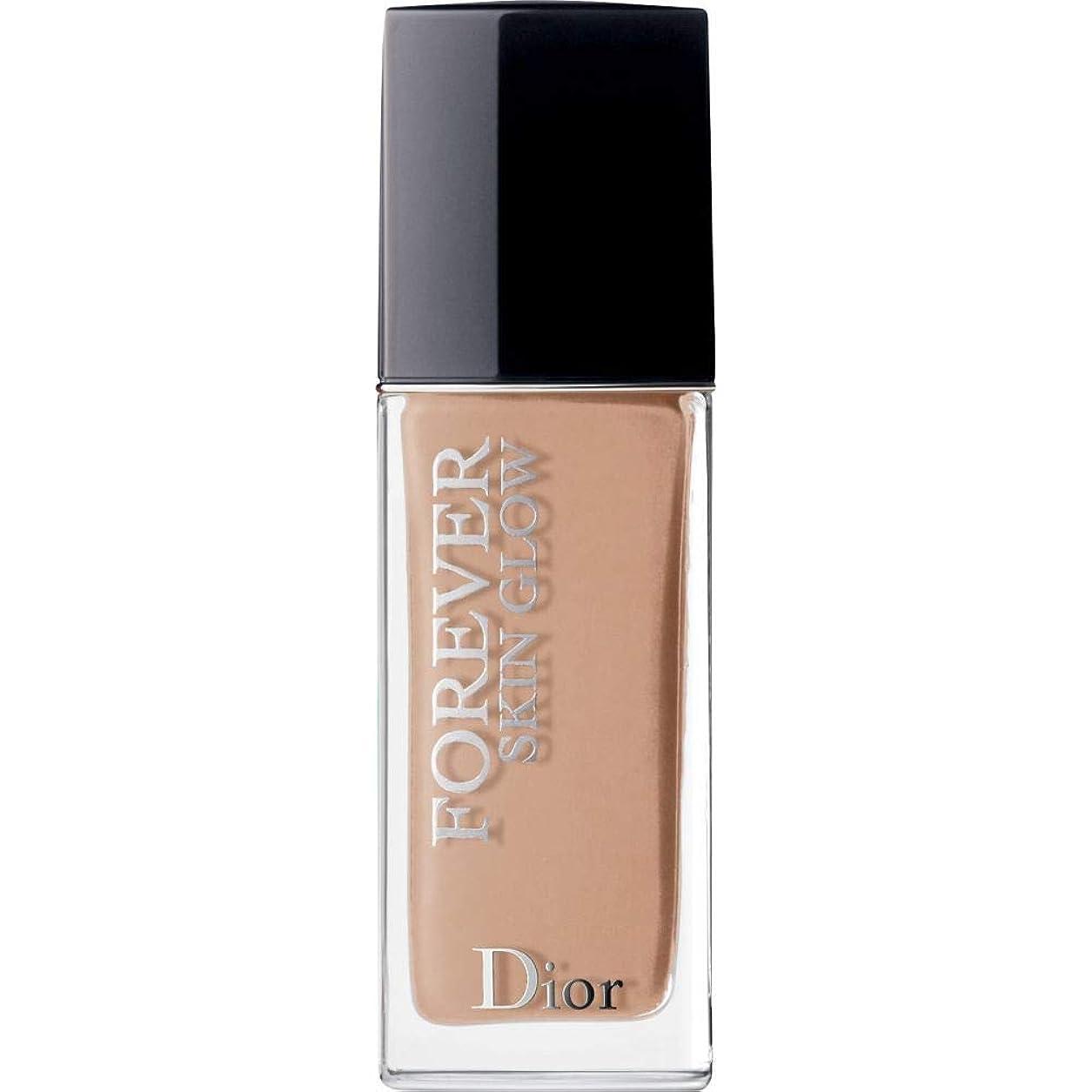 頂点コック[Dior ] ディオール永遠に皮膚グロー皮膚思いやりの基礎Spf35 30ミリリットル4Cを - クール(肌の輝き) - DIOR Forever Skin Glow Skin-Caring Foundation SPF35 30ml 4C - Cool (Skin Glow) [並行輸入品]