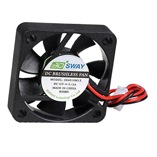 prasku Cojinete Hidráulico 12VDC Ventilador de Refrigeración Sin Escobillas 40x10mm para Impresora 3D