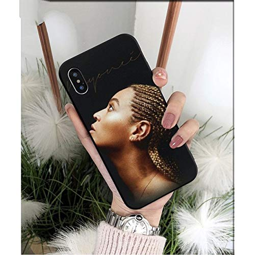 Carcasa Beyonce Coque Shell para iPhone 8 7 6 6S Plus 5 5S SE XR X XS MAX Coque Shell, A5, para iPhone XR