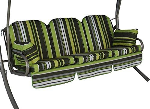 Angerer Deluxe Schaukelauflage 3-Sitzig Design Helsinki
