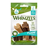 WHIMZEES Puppy Natural Dental Dog Chews Long Lasting, M/L - 7 Pieces