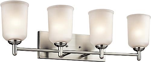 wholesale Kichler 45575NI Four lowest online Light Bath outlet online sale