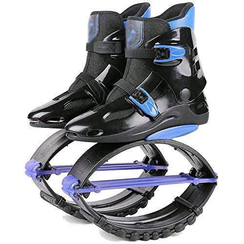 JINGTANG Chaussures de Saut pour Adultes Enfants,Chaussures Anti-Gravit Eacute pour Rebondir, Courir, Sauter, Unisexe, pour Adultes,60-220 LB,XL(39-41)-C