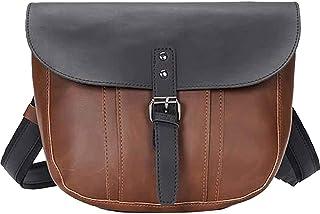 Gqbzz Casual Messenger Bag Personalidad Retro Cross Bag Multifuncional Retro A prueba de agua Bolsa Casual Classic Hombro ...