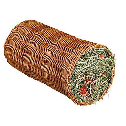 Weidentunnel mit Heu/Karotte, ø 20 × 38 cm