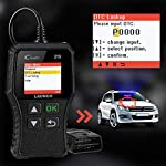 LAUNCH OBD2 Scanner CR319 Check Engine Code Reader with Full OBD2 Functions, Car Engine Fault Code Reader CAN Scan Tool… 13 【CHECK ENGINE LIGHT OBD2 SCANNER】The obd2 scanner CR319 full obd2 function scanner can fast read and clear trouble codes, check emission-related monitors, accurately pinpoint the problems of your vehicle, turn off the MIL (Malfunction Indicator Lamp), and reset the monitors. It enables you to fix the issues yourself, or enlighten you about what might happen before bringing in for repairing. Save your money! Save your time! OVER 200,0000 DIYER 's First Choice !!! 【READ AND CLEAR CODES READER】The lowest price obd2 scanner with full obd2 function scanner, including Read and erase code (Generic, Manufacturer Specific, and Pending Codes) and show code definitions, I/M Readiness, live date, Freeze Frame, Vehicle Information, O2 Sensors, EVAP, On-Board Monitor Test (Mode 6), Component Test, etc,which can help you find the hidden problems and simplify diagnosis, resolve the reasons which light up the engine light, and present you the status of the car engine. 【ONE-CLICK I/M READINESS & DTC LOOKUP】The code reader is equipped with One-Click I/M readiness, which makes it more efficient to check the emission state and readiness so as to have a clear idea about vehicle health status. To assist you in passing the emission test easily, the OBD2 code reader would make sure the monitors are all set. The built-in DTC library with a database of over 3000 code definitions, automatically displayed after reading. Read the definitions, solve the problems.
