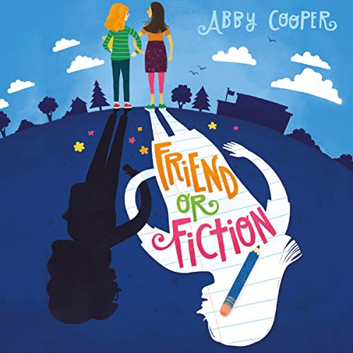 Friend or Fiction audiobook cover art