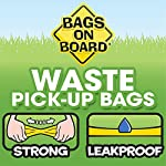 Bags on Board Strong, Leak Proof Dog Poop Pick-up Bags - Ocean Breeze scent (140 Bags) 14