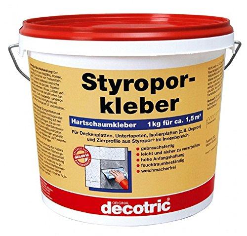 Preisvergleich Produktbild 28 Kg Styroporkleber DECOTRIC