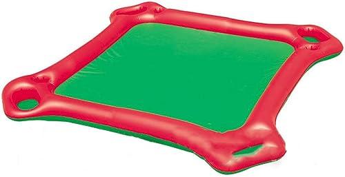 Aufblasbares Wasser spielt Kind-Erwachsen-Schwimmen-Ring-Wasser-aufblasbares Berg-sich hin- und herbewegendes Bett, das Reihen-Spiel-Spielzeug schwimmt