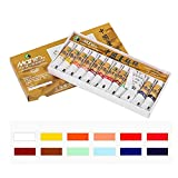 12/18/24/36 Color Chinese Painting Paint 12ml Watercolor Paint Set Painting Tool Artist Student Art Supplies Ink Painting Paint
