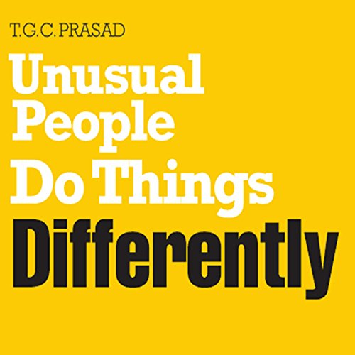 Unusual People Do Things Differently audiobook cover art