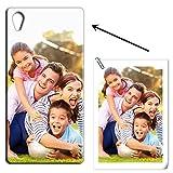 Mixroom - Coque personnalisée avec votre photo étui en TPU silicone souple pour Sony Xperia Xa1...