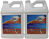 Durable Water Repellent Penetrating Sealer: Concrete Driveways, Brick, Masonry, Pavers. Protects Surface up to 10 Years. Black Diamond Stoneworks. (2-gallons)