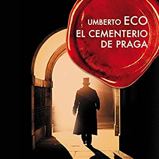 El cementerio de Praga [The Prague Cemetery] cover art