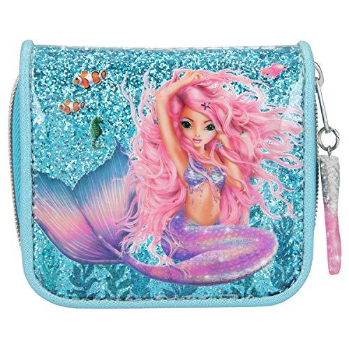 Depesche 10981 Portemonnaie, Fantasy Model Mermaid, blau, ca. 3 x 12 x 10 cm