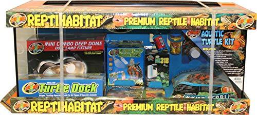 Zoo Med ReptiHabitat Aquatic Turtle Kit - 20 gal (Long)