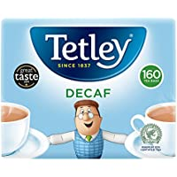 Tetley A06070 - One Cup Decaf Teabags A06070 (PK 160)