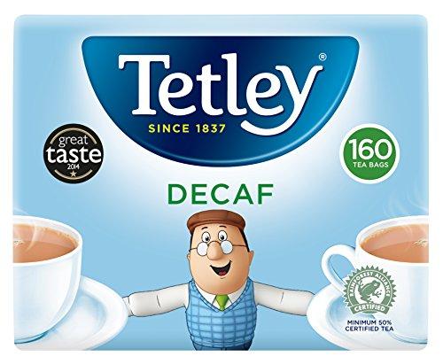 Tetley A06070 - One Cup Decaf Teabags A06070 (PK 160)