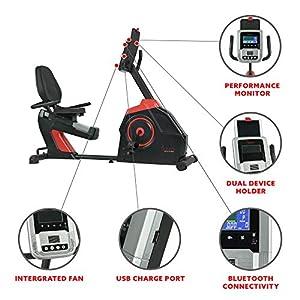 Sunny Health & Fitness Evo-Fit Cardio Recumbent Bike - SF-RB4954