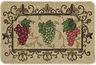 Mainstays Nature Trends Grape Bunches Printed Kitchen Mat (2)