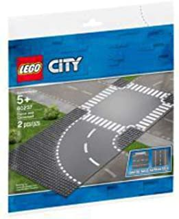 LEGO City Supplementary Curve and Crossroad for age 5+ years old 60237